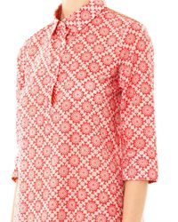 Thierry Colson - Red Angelica Folkprint Kaftan - Lyst