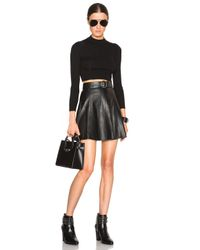 Rag & Bone - Black Suki Skirt - Lyst