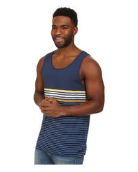 Billabong | Blue Spinner Tank for Men | Lyst