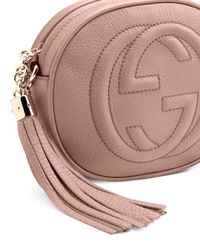 Gucci - Natural Soho Leather Mini Chain Bag - Lyst