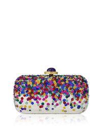 Judith Leiber - Multicolor Soap Dish Crystal Clutch Bag - Lyst