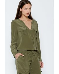 Joie | Green Haim Top | Lyst