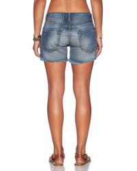 Free People - Blue Avi Mexico Short - Lyst