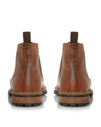 Howick - Brown Chariots Natural Sole Chelsea Boots for Men - Lyst