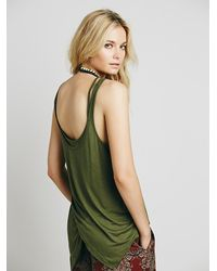 Free People - Green We The Free Maui Tank - Lyst