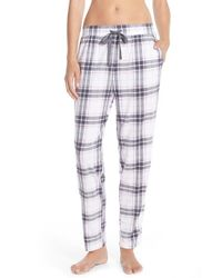 Cozy Zoe | Green Print Cotton Blend Lounge Pants | Lyst
