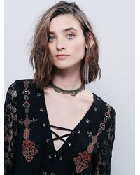 Free People - Black Womens Charlie Tunic - Lyst