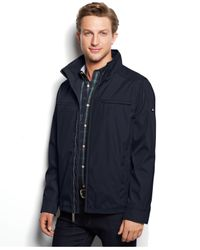 Calvin Klein | Blue 3 Seasons Weather-resistant Coat for Men | Lyst
