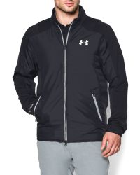 Under Armour - Black Tips Coldgear Casual Full Zip Quilted Jacket for Men - Lyst