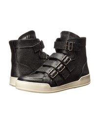 DSquared² - Black Straight Jacket Buckle Sneaker - Lyst
