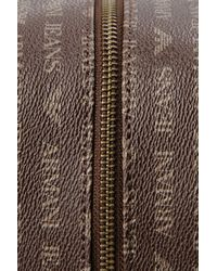 Armani Jeans | Brown Case in Faux Leather with All-over Logo for Men | Lyst