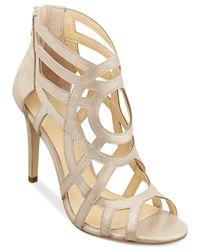 Ivanka Trump | Metallic Despina Dress Sandals | Lyst