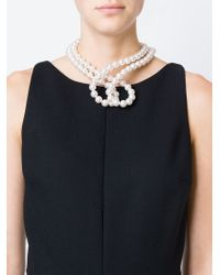 Stella McCartney | White Pure Pearl Necklace | Lyst