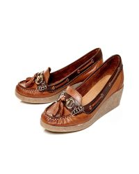 Moda In Pelle | Brown Avida Medium Casual Shoes | Lyst