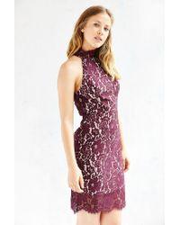 Keepsake | Purple One Night Lace Dress | Lyst