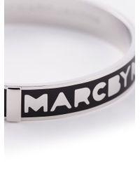 Marc By Marc Jacobs - Metallic Logo Bracelet - Lyst