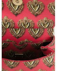 Dolce & Gabbana - Pink Mini 'sicily' Tote - Lyst