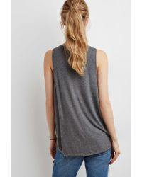 Forever 21 - Gray Oscar Wilde Graphic Tank - Lyst