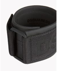 DSquared² | Black Techno Japan Armlet for Men | Lyst