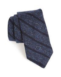 Todd Snyder - Blue Woven Silk & Wool Tie for Men - Lyst