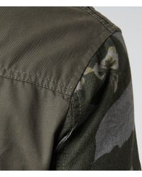 AllSaints - Natural Strauss M65 Jacket for Men - Lyst