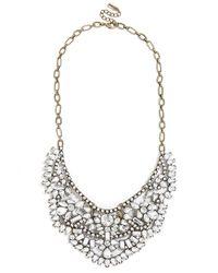BaubleBar | Metallic Crystal Rapunzel Bib | Lyst