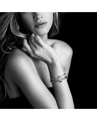 David Yurman | Metallic Cable Collectibles Heart Lock Bracelet In 18k Gold | Lyst