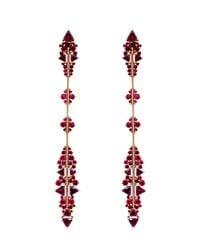 Fernando Jorge - Metallic Ruby, Rhodolite & Rose-Gold Earrings - Lyst
