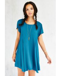 Silence + Noise | Blue Witchy T-shirt Dress | Lyst