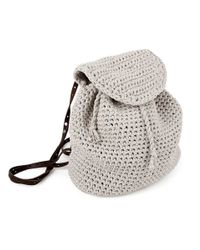 Wool And The Gang | Natural Jackson Backpack | Lyst