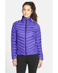 The North Face Purple 'tonnerro' Down Jacket