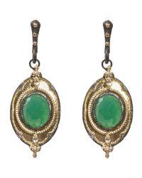 Armenta | Old World Green Onyx Diamond Drop Earrings | Lyst