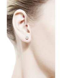 Ginette NY - Metallic Pearl Cabochon Studs - Lyst