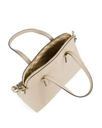 Kate Spade | Natural Maise Leather Dome Bag | Lyst
