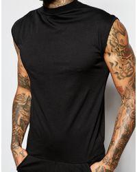ASOS - Drop Crotch Jumpsuit In Black for Men - Lyst