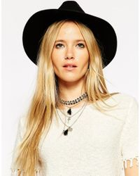 ASOS | Multicolor Multirow Beaded Choker And Tassel Necklace | Lyst