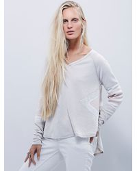 Free People - Natural We The Free New Direction Tee - Lyst