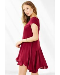 Kimchi Blue - Red Jainey Trapeze Dress - Lyst