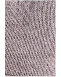 BOSS Orange | Gray Knit Cap 'katapin' In New Wool for Men | Lyst