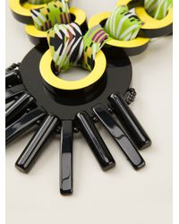 Etro - Multicolor Link Necklace - Lyst