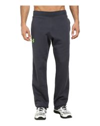 Under Armour - Gray Ua Rival Cotton Pant for Men - Lyst
