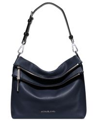 Michael Kors | Blue Michael Jane Extra Large Shoulder Bag | Lyst