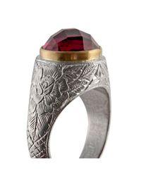 Emma Chapman Jewels - Metallic Pink Tourmaline Pope Ring - Lyst