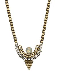 Lionette | Metallic Tribeca Necklace | Lyst
