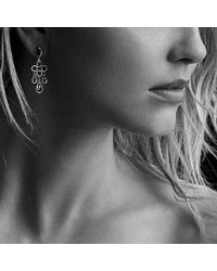 David Yurman - Chandelier Earrings With Peridot And Green Tourmaline In 18k Gold - Lyst