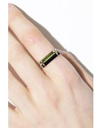 Jene Despain | Green Astral Bar Ring | Lyst