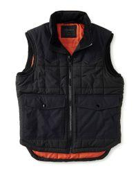 Aéropostale | Black Solid Puffer Vest | Lyst