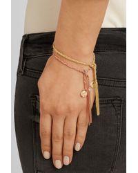Carolina Bucci | Metallic 'lucky' 18kt White And Pink Gold Virtue Bracelet | Lyst