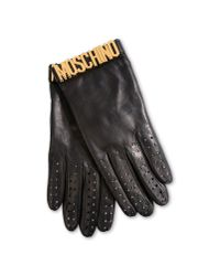 Moschino | Black Gloves | Lyst
