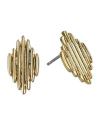 Vince Camuto | Metallic Spikey Stud Earrings | Lyst